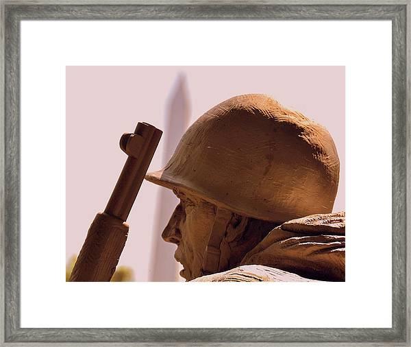 Korean War Memorial 2 Framed Print