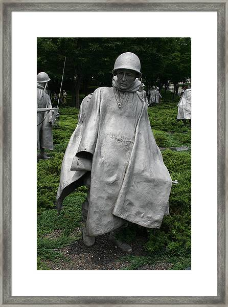 Korean War Veterans Memorial 2 Framed Print