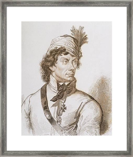 Kosciuszko, Tadeusz (1746-1817 Framed Print by Prisma Archivo