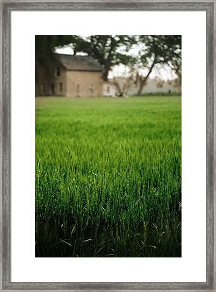 Ks Farm Framed Print