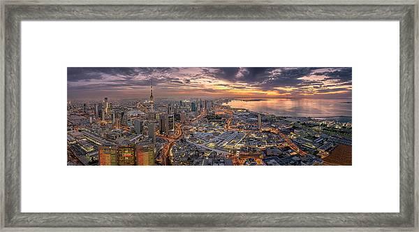 Kuwait City Framed Print by Ahmad Al Saffar
