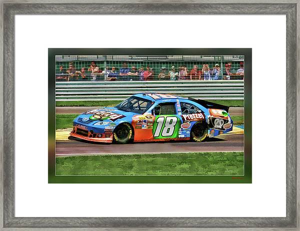 Kyle Busch Framed Print