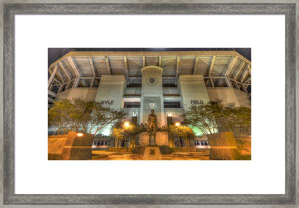 Kyle Field Framed Print