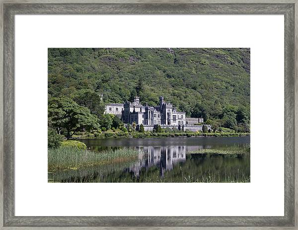 Kylemore Abbey Reflection Framed Print