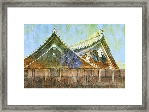 Kyoto Temple Framed Print