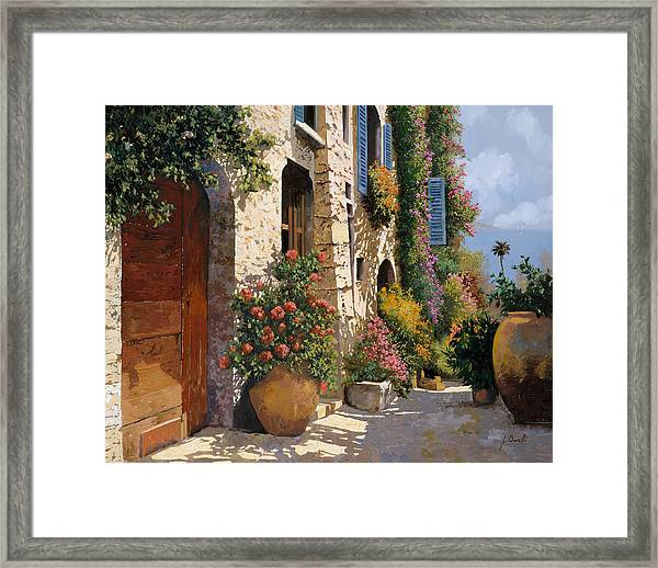 La Bella Strada Framed Print