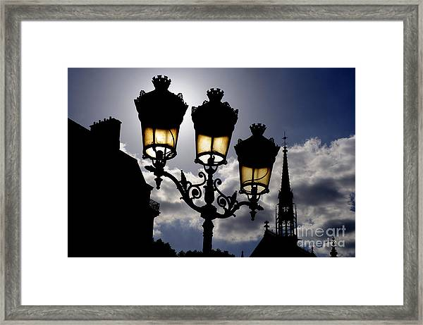 La Chapelle Paris Framed Print by Colin Woods