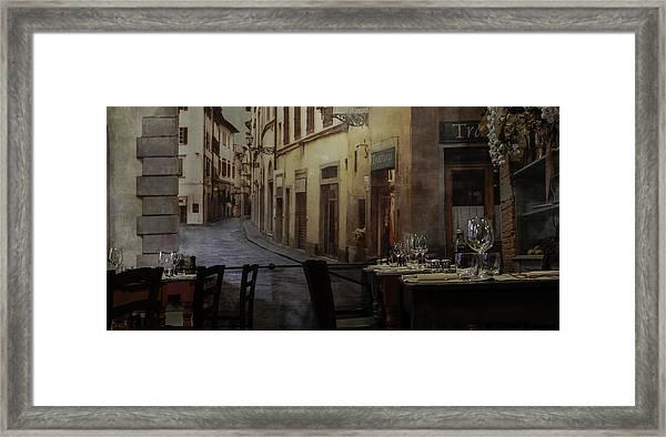 La Cippolla Rosa Framed Print