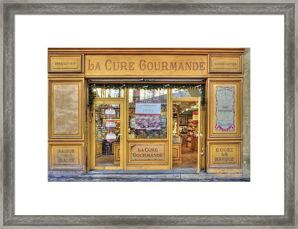 La Cure Gourmande Framed Print