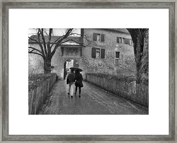 La Gruyere Framed Print