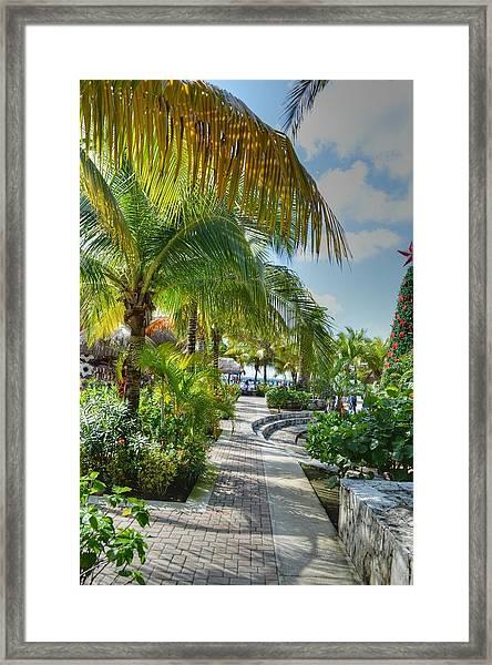 La Isla Bonita Framed Print
