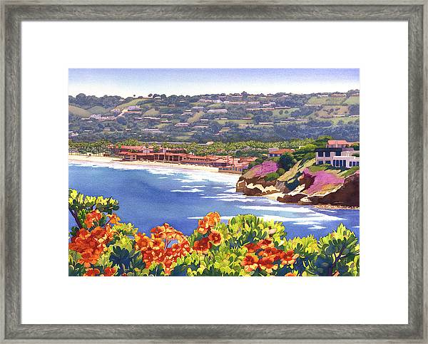 La Jolla Beach And Tennis Club Framed Print
