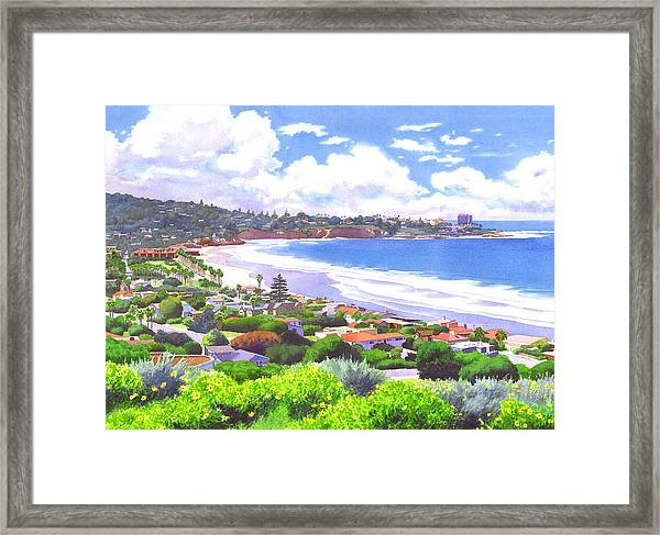 La Jolla California Framed Print