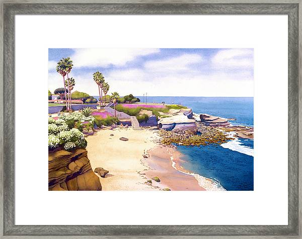 La Jolla Cove Framed Print