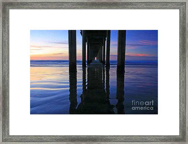 La Jolla Dream Light Framed Print