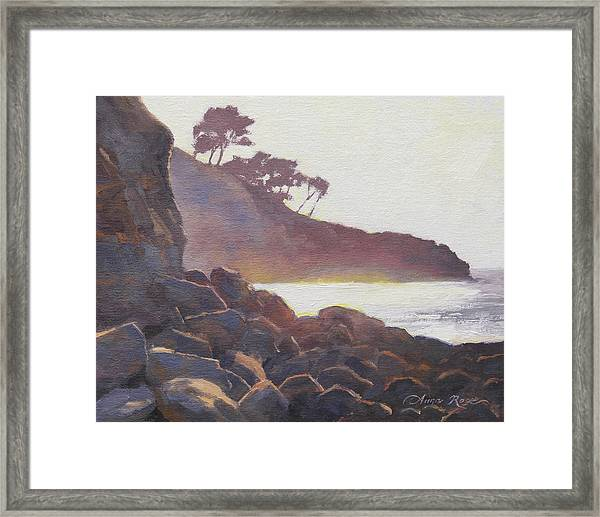 La Jolla Light Framed Print