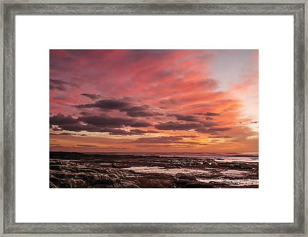 La Jolla Sunset 1 Framed Print
