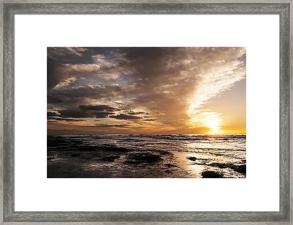 La Jolla Sunset 4 Framed Print