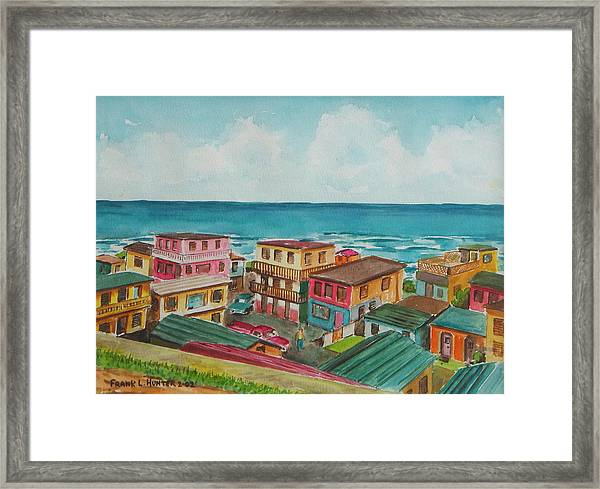 La Perla San Juan Pr Framed Print