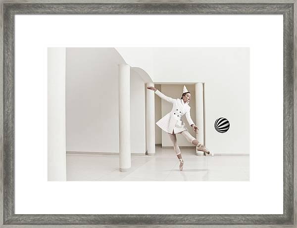 La Pulcinella Framed Print
