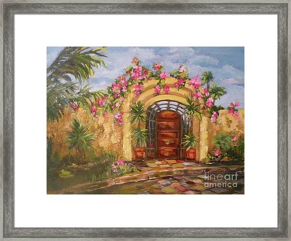 La Punta Villa Framed Print