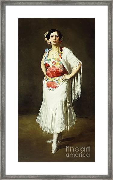 La Reina Mora Framed Print