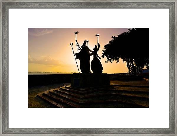 La Rogativa 1 Framed Print