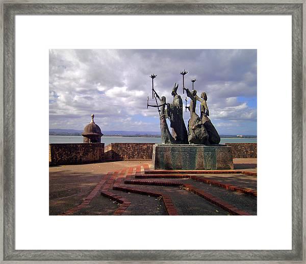 La Rogativa Framed Print