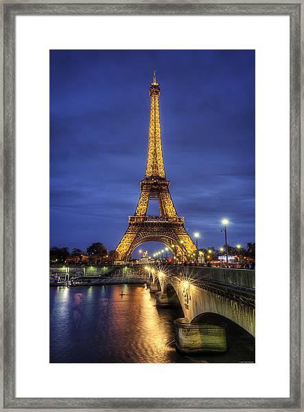 La Tour Eiffel Framed Print