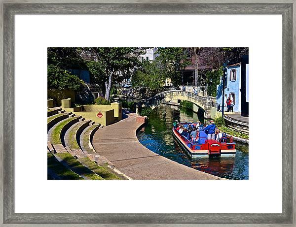 La Villita Outdoor Theater Framed Print