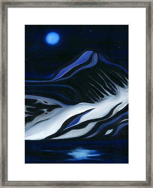 Labrador Blue Mountain Framed Print