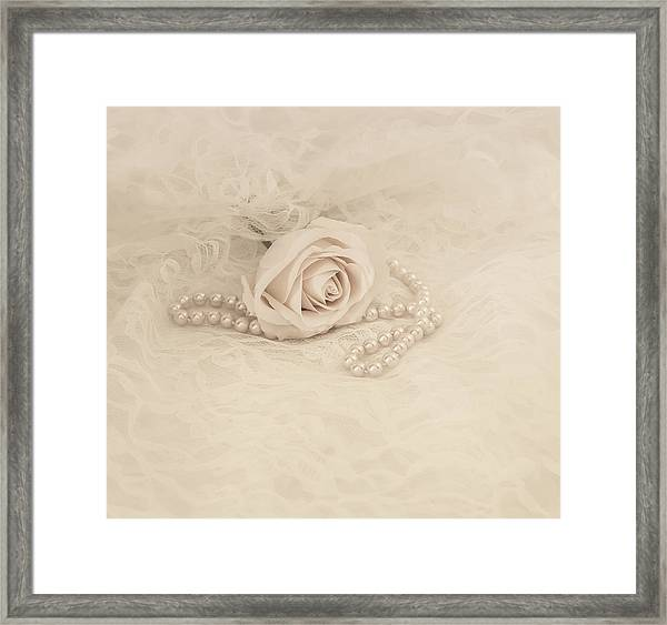 Lace And Promises Framed Print