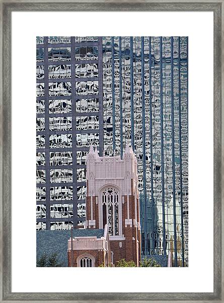 Lace Reflections Framed Print
