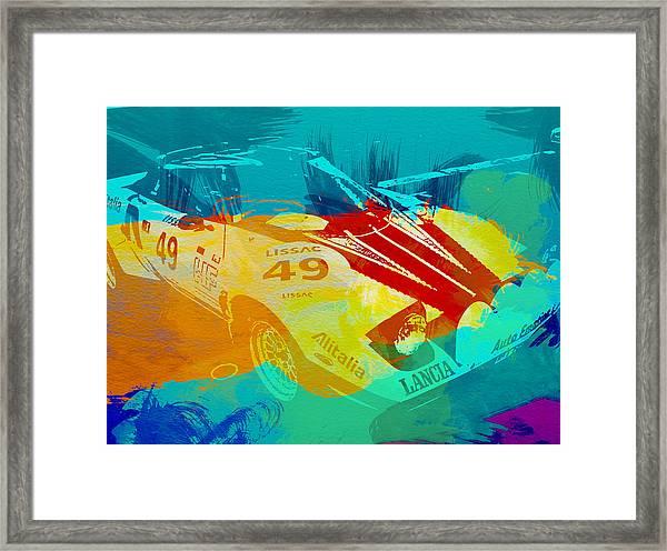 Lacia Stratos Watercolor 1 Framed Print