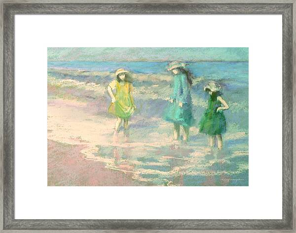 Ladies Day Framed Print