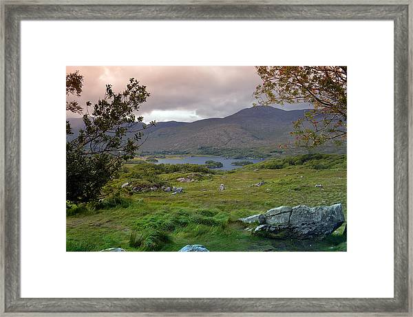 Ladies View. Framed Print by Terence Davis