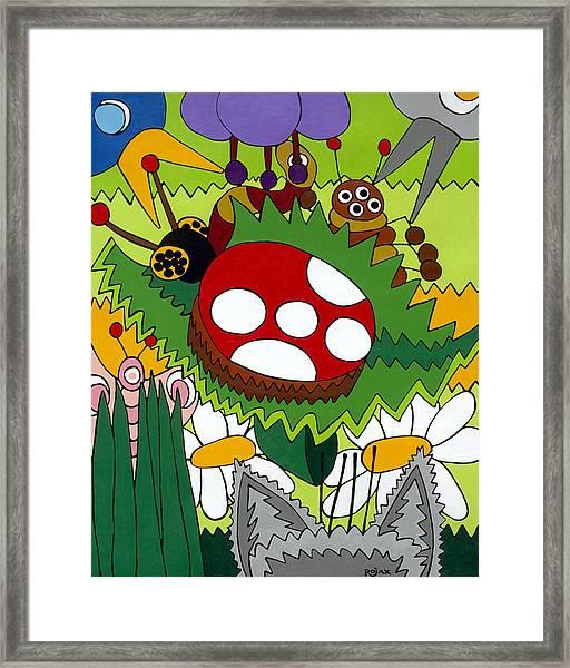 Lady Bug Framed Print