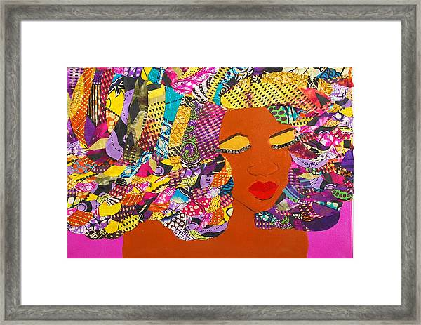 Lady J Framed Print