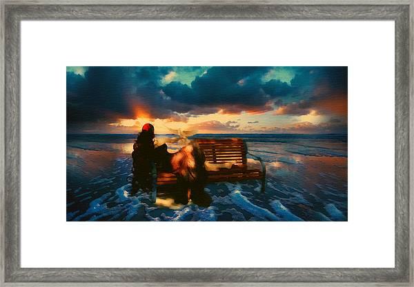 Lady Of The Ocean Framed Print