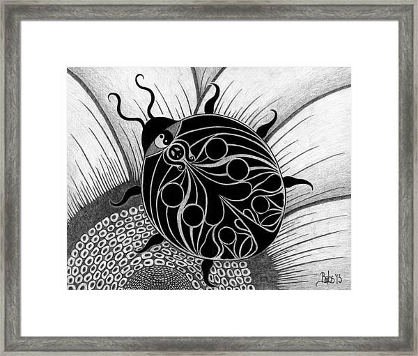 Lady Spirit  Framed Print