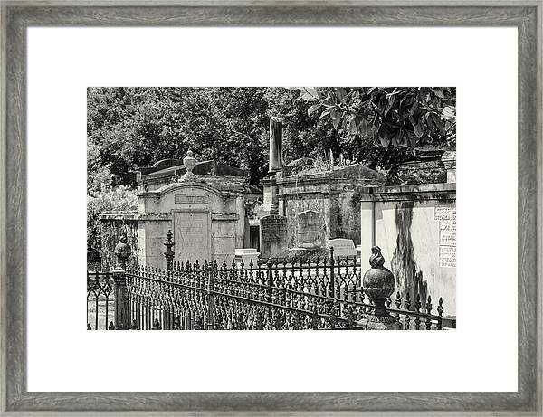 Lafayette Cemetery No. 1 Framed Print