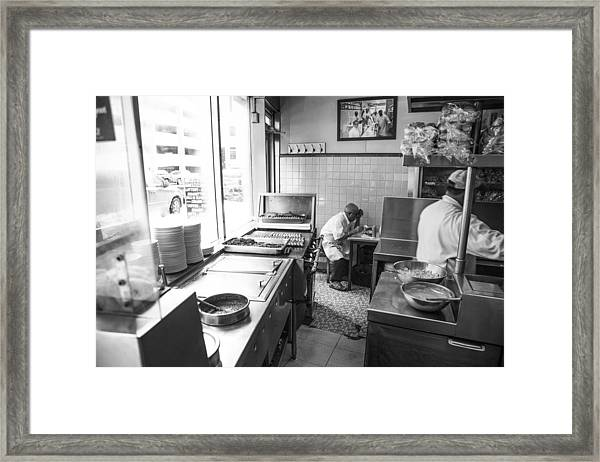 Lafayette Coney In Detroit  Framed Print