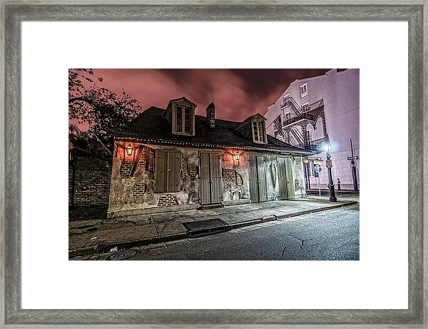Lafitte's Blacksmith Shop Framed Print