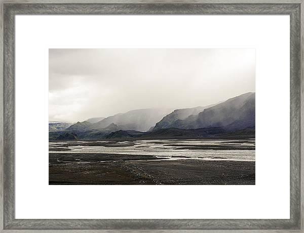 Lagarfljót, East Iceland Framed Print by Feifei Cui-Paoluzzo