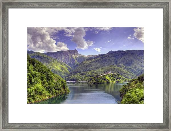 Lago Di Vagli Framed Print