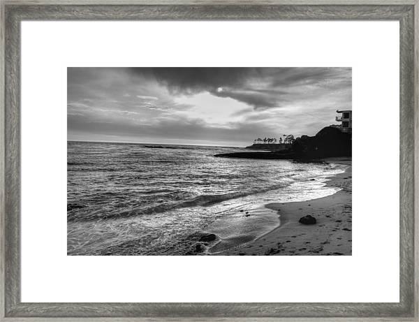 Laguna Beach Sunset Framed Print