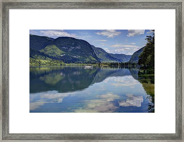 Lake Bohinj Framed Print