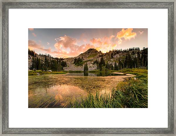Lake Catherine Framed Print
