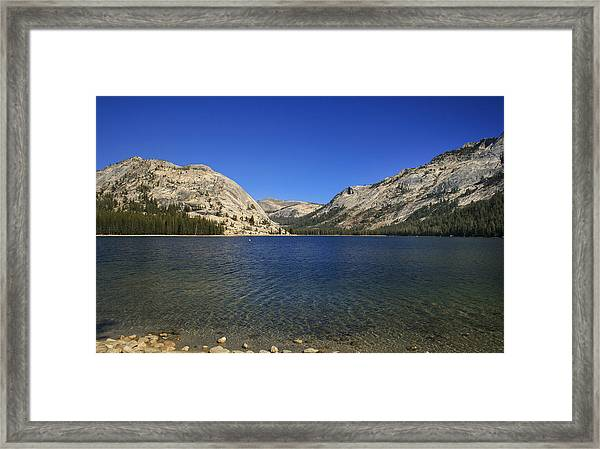 Lake Ellery Yosemite Framed Print