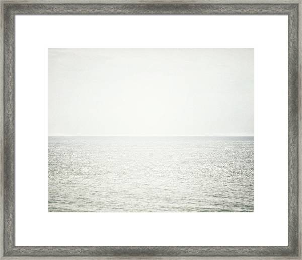 Lake Erie Morning Framed Print